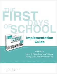 Implementation Guide for The First Days of School