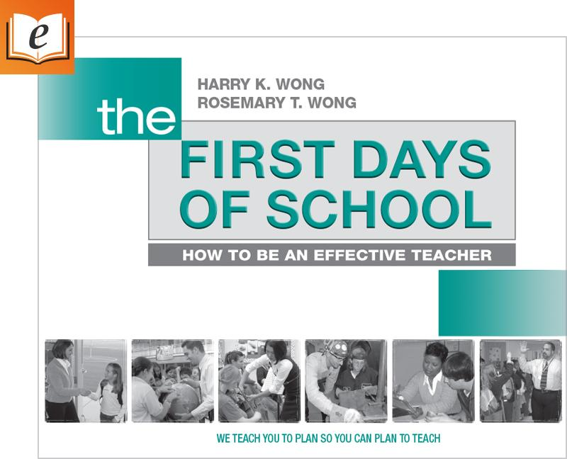 The First Days Of School 4th Edition Ebook Books Effective